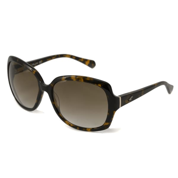 Kenneth Cole Women's KC7054 Rectangular Sunglasses with Plastic Frame