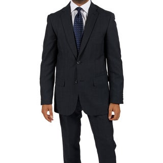 Ferrecci Men's 'Zonettie' 2-piece Navy Suit