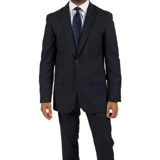 Ferrecci Men's 'Zonettie' 2-piece Navy Suit