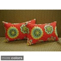 Blazing Needles 12 x 20-inch Rectangular Throw Pillows (Set of 2)