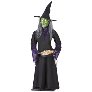 5.5-foot Animated Airblown Life-size Witch