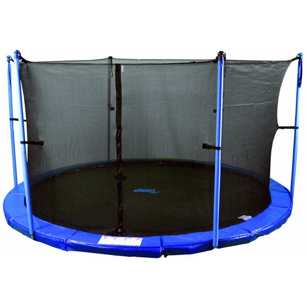 Trampoline Enclosure Set For 12 Ft Round Frame