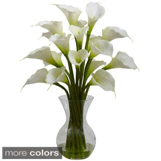Galla Calla Lily and Vase Floral Arrangement