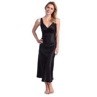 Jones New York Women's Long Satin Gown