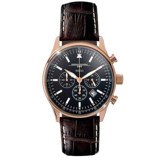Jorg Gray Mens JG6500-51 Commemorative Edition Chronograph Watch