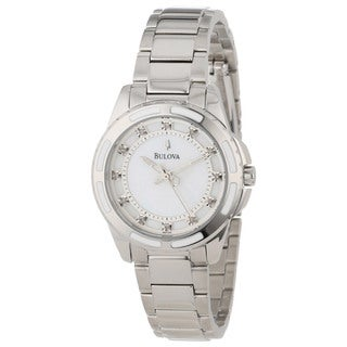 Bulova Women's Diamond-accented Swiss Quartz Watch