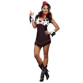 Dream Girl Women's Ridin' Broncos Costume