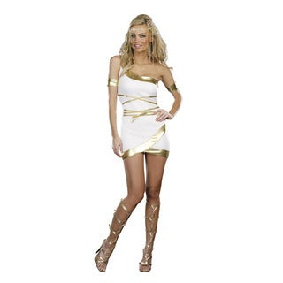 Dream Girl Women's 'Worship Me' 2-piece Goddess Costume