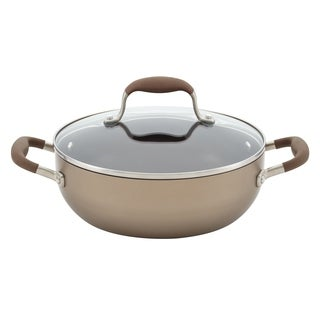 Anolon Advanced Bronze Hard-Anodized 3.5-quart Nonstick Covered Chef's Casserole