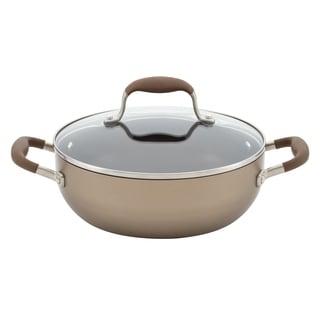 Anolon Advanced Bronze Hard-Anodized 3.5-quart Nonstick Covered Chef's Casserole