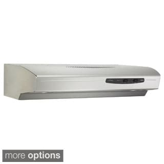 Broan QS142 Allure Series 220 CFM Under Cabinet 42-inch Hood