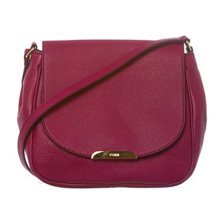 Fendi Pebbled Leather Crossbody Bag