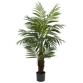 Nearly Natural 4-foot Areca Palm Tree Decorative Plant