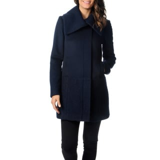 Ivanka Trump Women's Novelty Wool Coat