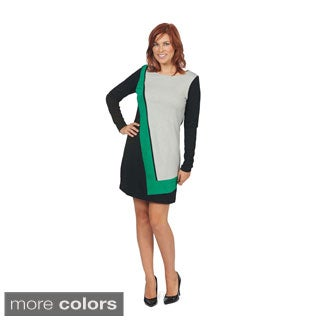 Women's 'Elban' Colorblocked Shift Dress