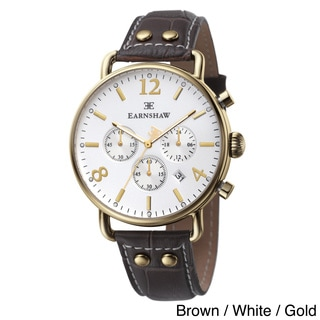 Earnshaw Men's 'Investigator' Chronograph Watch