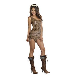 Dream Girl Women's Cave Girl Starter Dress