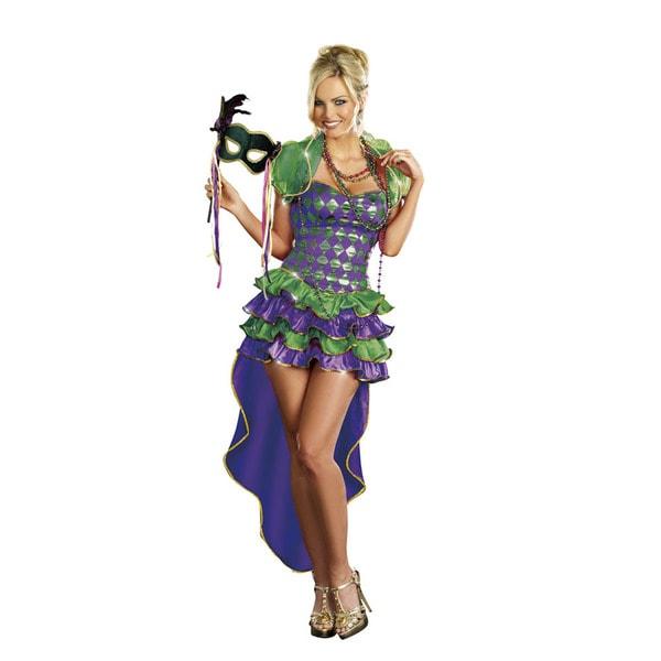 Dream Girl Women's Mardi Gras Maven Costume