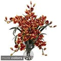 Large Cymbidium with Vase Arrangement