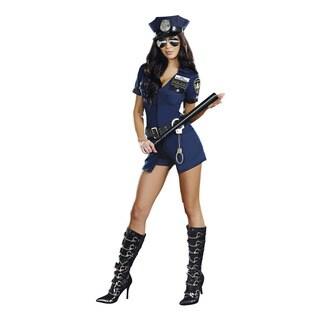 Dream Girl Women's Officer Sheila B. Naughty Costume