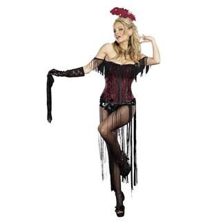 Dream Girl Women's 'Burlesque Beauty' 4-piece Costume