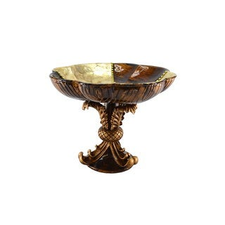 15 x 12-inch Round Bowl On Pedestal