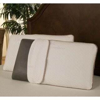 Sleep Zone Black Diamond Memory Foam Pillow