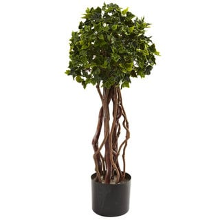 2.5-Foot Ivy Topiary UV Resistant (Indoor/Outdoor)