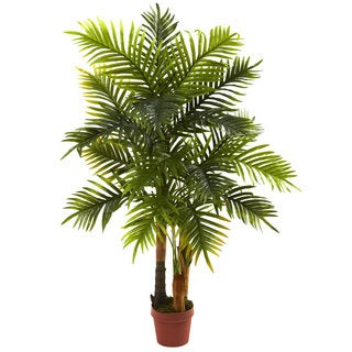 4-Foot Areca Palm Tree (Real Touch)