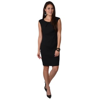 Calvin Klein Women's Embellished Cap Sleeve Dress