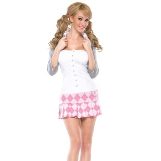 Masquerade Women's Naughty School Girl 4-piece Costume
