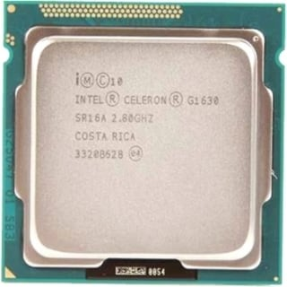 Intel Celeron G1630 Dual-core (2 Core) 2.80 GHz Processor - Socket H2