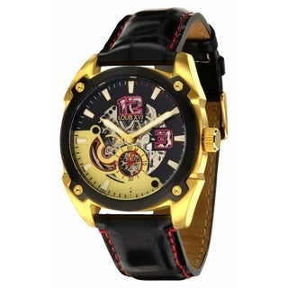 Louis XVI Men's 'Rochefort' Skeleton Dial Automatic Watch