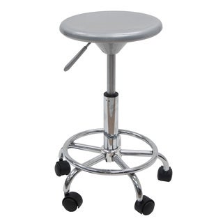 Silver/ Chrome Studio Stool