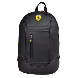 Ferrari Black Santander Backpack