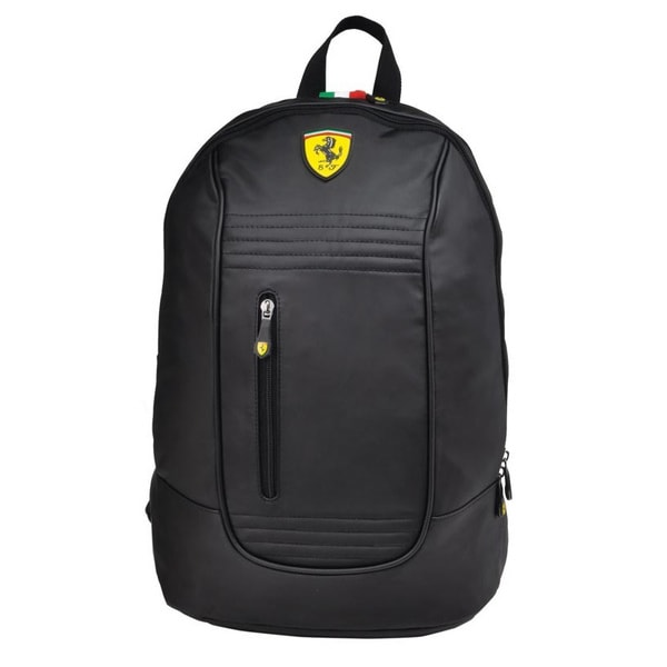 Ferrari Black Santander Backpack