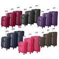 World Traveler Featherlite 3-piece Super Lightweight Spinner Upright Luggage Set