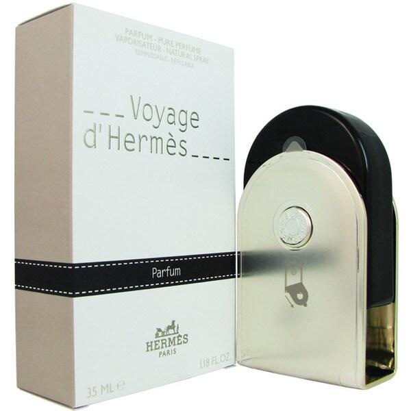 Hermes Voyage DHermes Eau de Parfum 1.18-ounce Refillable Spray