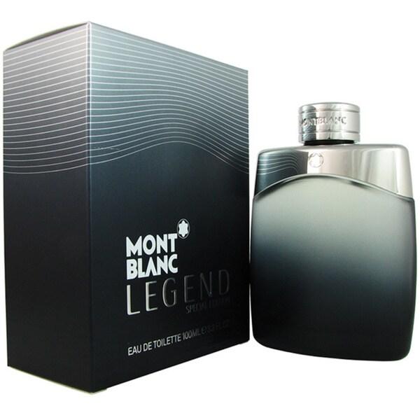 Mont Blanc Legend Special Edition 2015 Men's 3.3-ounce Eau de Toilette Spray