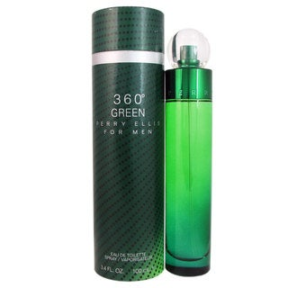 Perry Ellis 360 Green Men's 3.4-ounce Eau de Toilette Spray