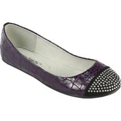 Women's Footzyfolds Brittany Purple