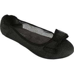 Women's Footzyfolds Cora Sheer Black