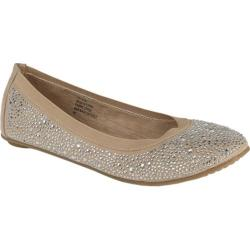 Women's Footzyfolds Crystal Beige