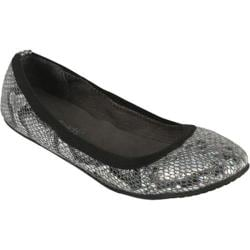 Women's Footzyfolds Jenifer Silver Iridescent