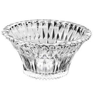 Red Vanilla 10-inch Deep Cut Crystal Bowl