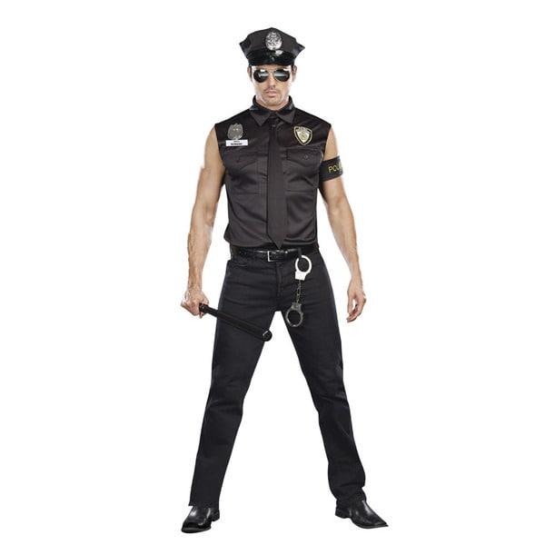 Dream Girl Men's Dirty Cop Officer Ed Banger Costume