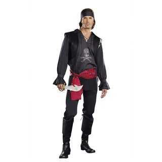 Dream Girl Men's 'Looking For Booty' 4-piece Pirate Costume