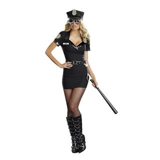 Dream Girl Women's 'Dirty Cop Officer Anita Bribe' 6-piece Costume