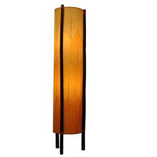 Eangee Orange Hue Large Floor Lamp