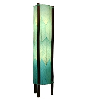 Eangee Sea Blue Hue Large Floor Lamp